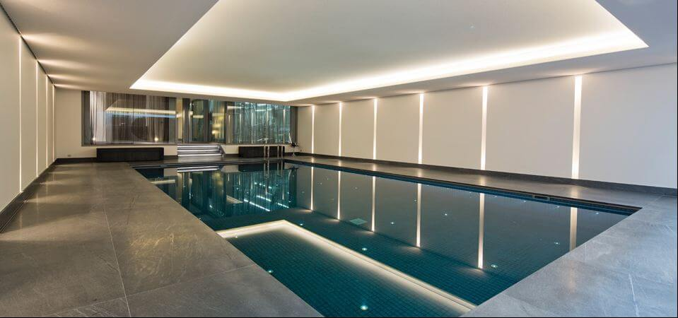 Pool contractor aguacaliente for Chlorine free swimming pool london